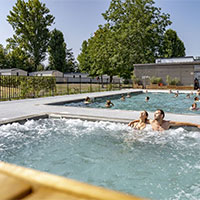 Campingplatz International de Maisons Laffitte in Region Paris / Ile de France, Frankreich
