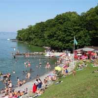 Campingplatz Saint Disdille In Thonon Les Bains, Haute Savoie   Mobilheime,  Zelte Und Glamping