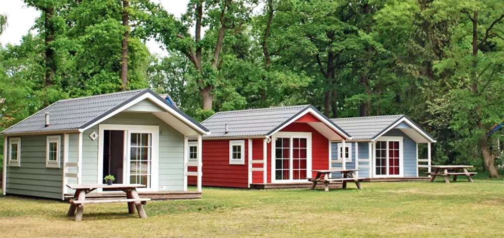 Lodges Witterzomer Drenthe