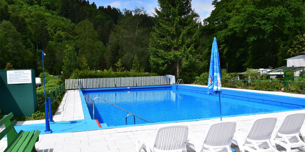 Swimming Pool von Camping Carpe Diem