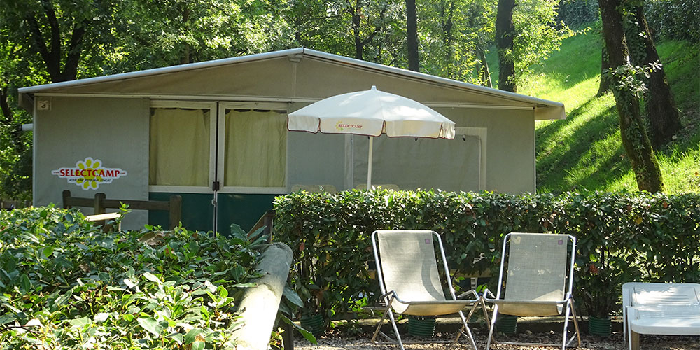Glamping auf Camping Weekend