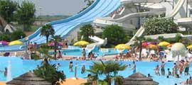 Wasserpark Aquafollie in Caorle